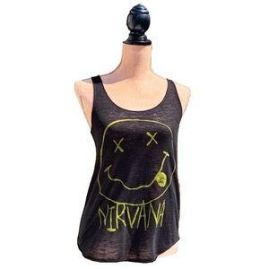 ☀️4/25 Ardene Racerback Nirvana Tank Top